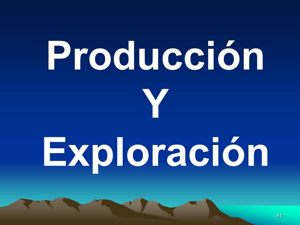 41 Producción Y Exploración