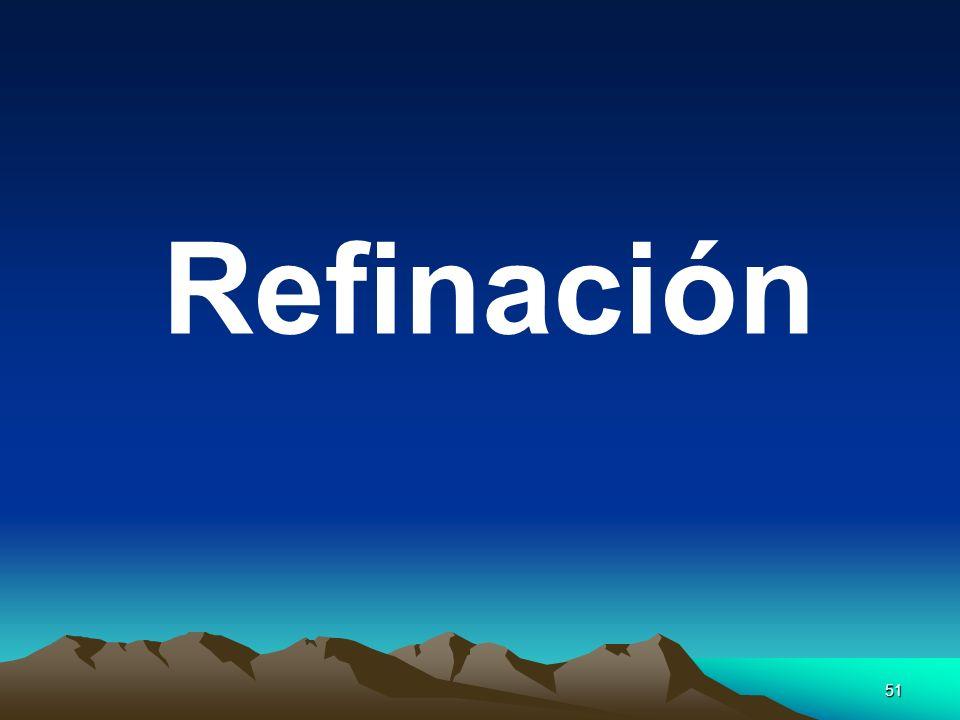51 Refinación