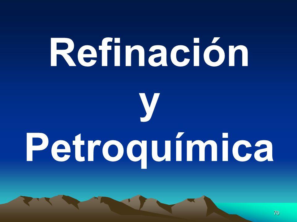70 Refinación y Petroquímica
