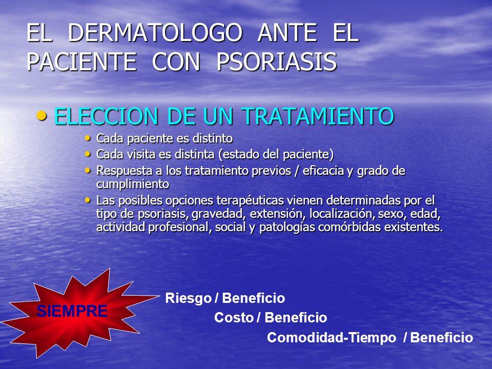 Paradigma en el Tratamiento de la Psoriasis TópicosFototerapiaSistémicos Biológicos Lebwohl M.