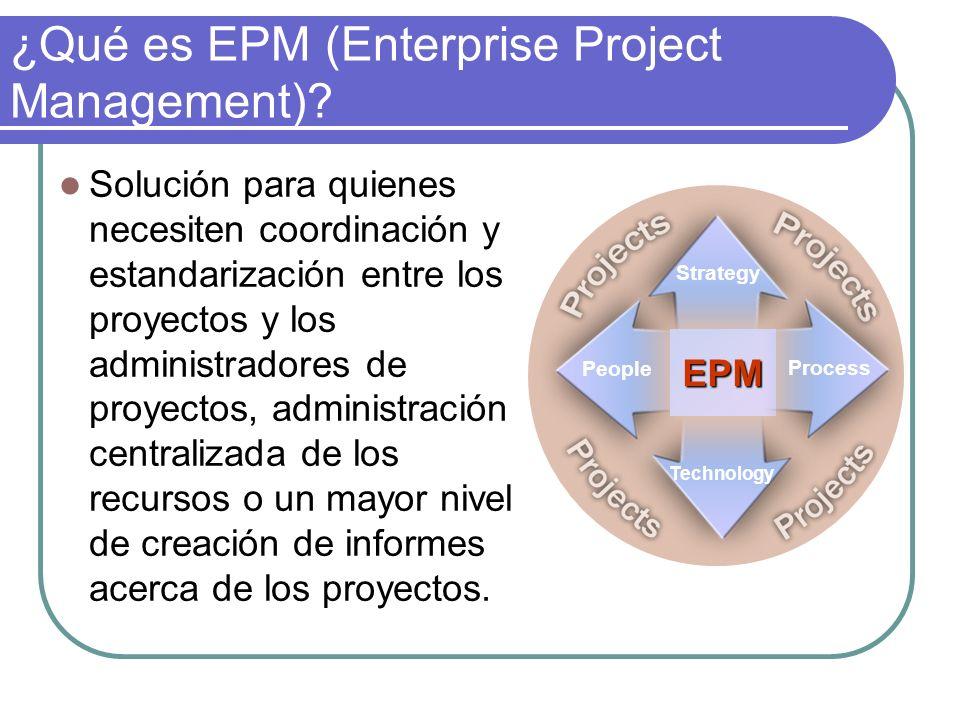 ¿Qué es EPM (Enterprise Project Management)? Solución para quienes necesiten coordinación y estandarización entre los proyectos y los administradores