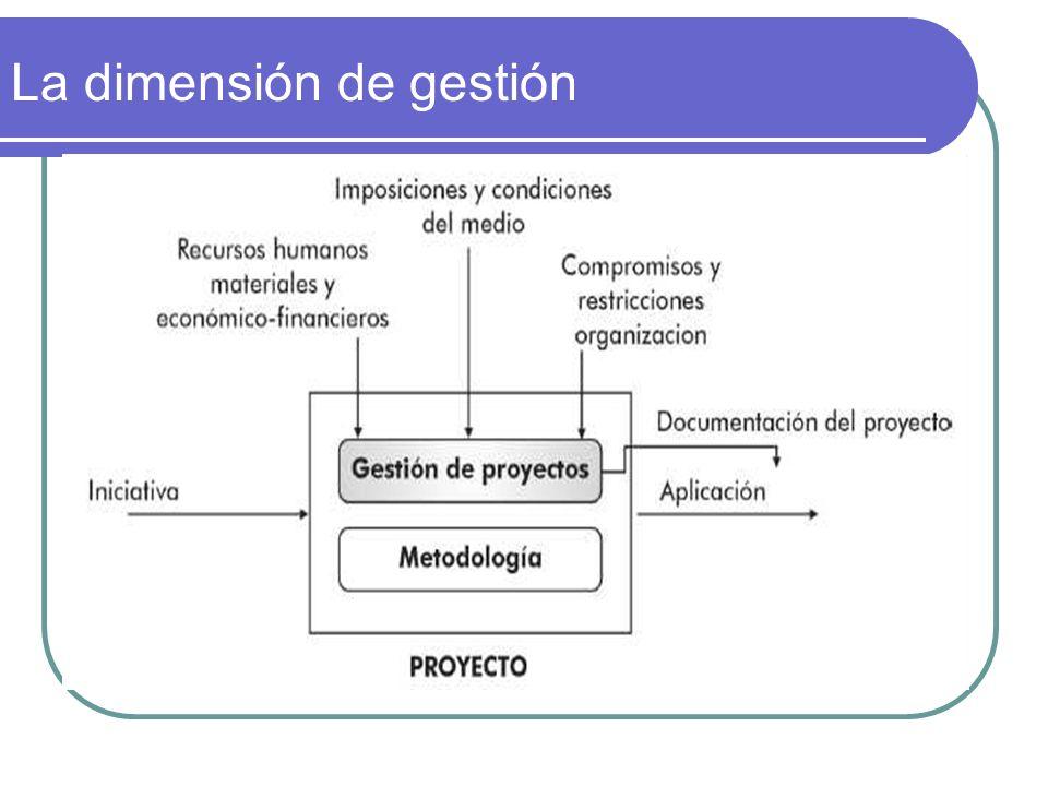 La dimensión de gestión