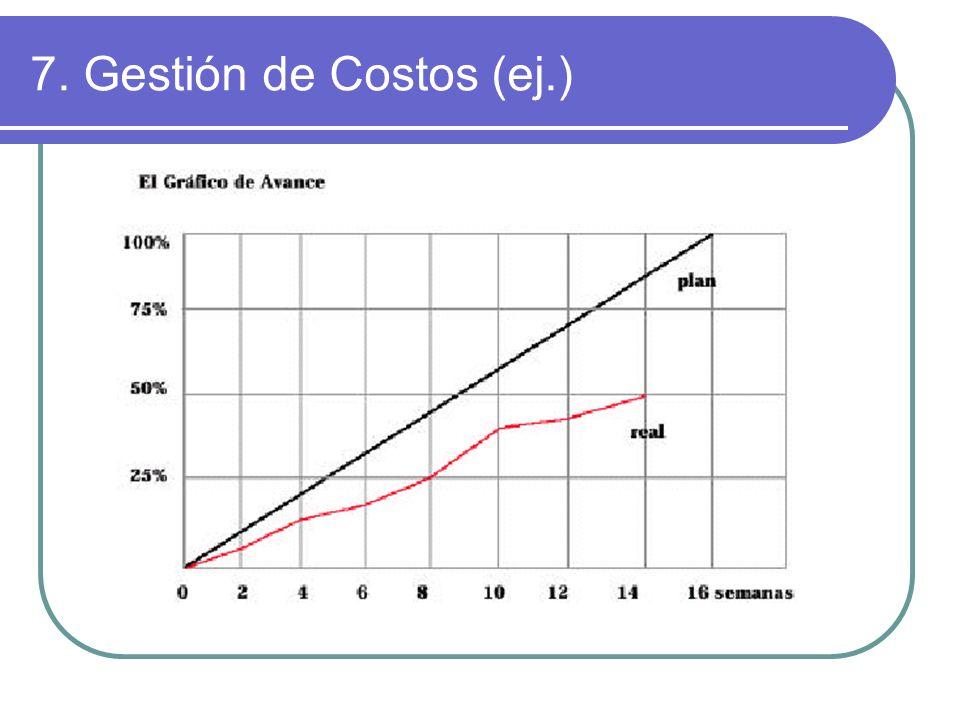 7. Gestión de Costos (ej.)