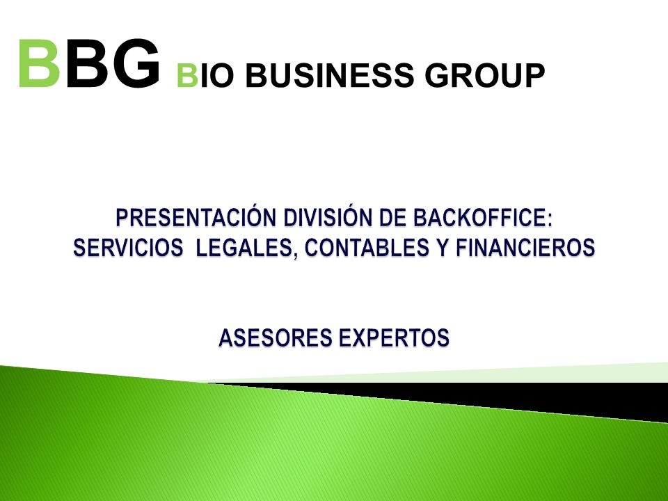 BBG BIO BUSINESS GROUP
