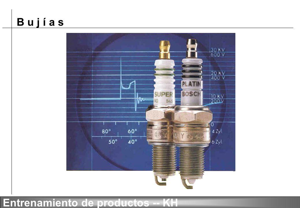 B u j í a s Entrenamiento de productos -- KH -- Distancia de electrodos