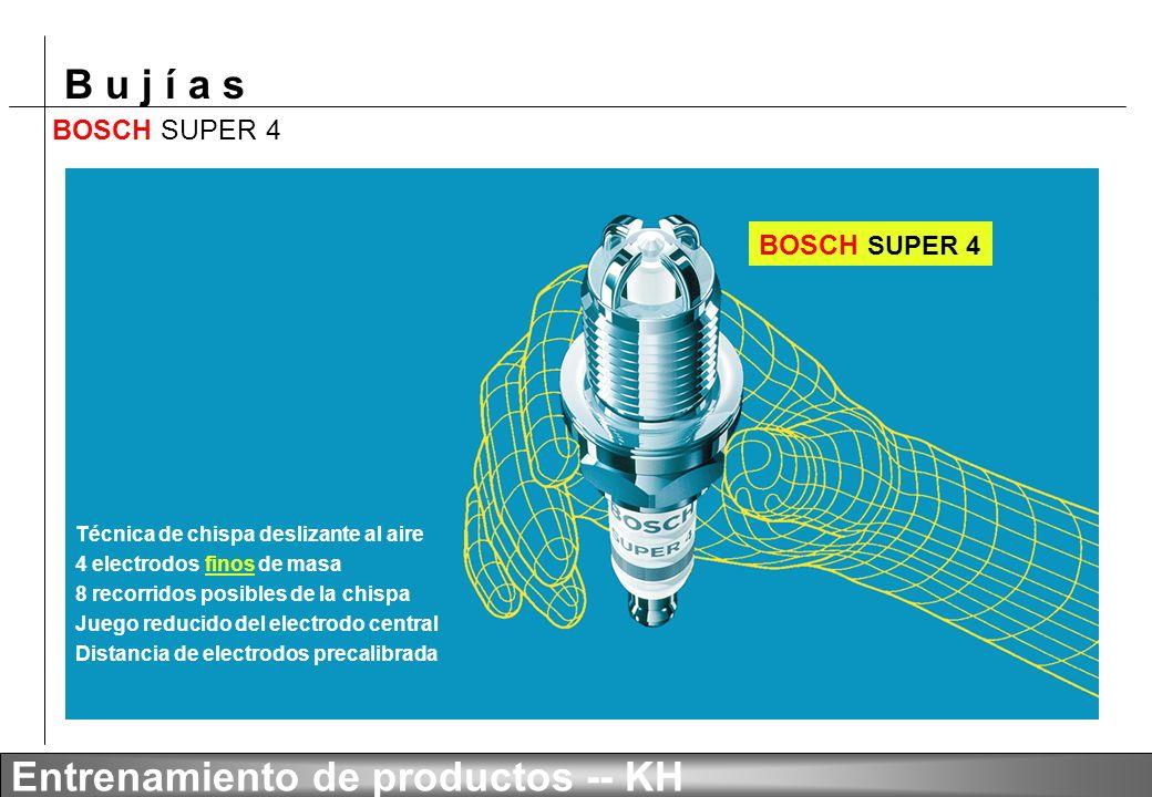B u j í a s Entrenamiento de productos -- KH BOSCH SUPER LDC
