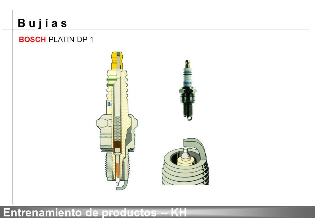 B u j í a s Entrenamiento de productos -- KH BOSCH PLATIN DP 0