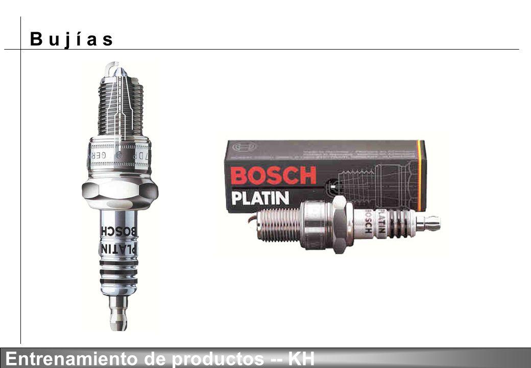 B u j í a s Entrenamiento de productos -- KH BOSCH PLATIN DP 1
