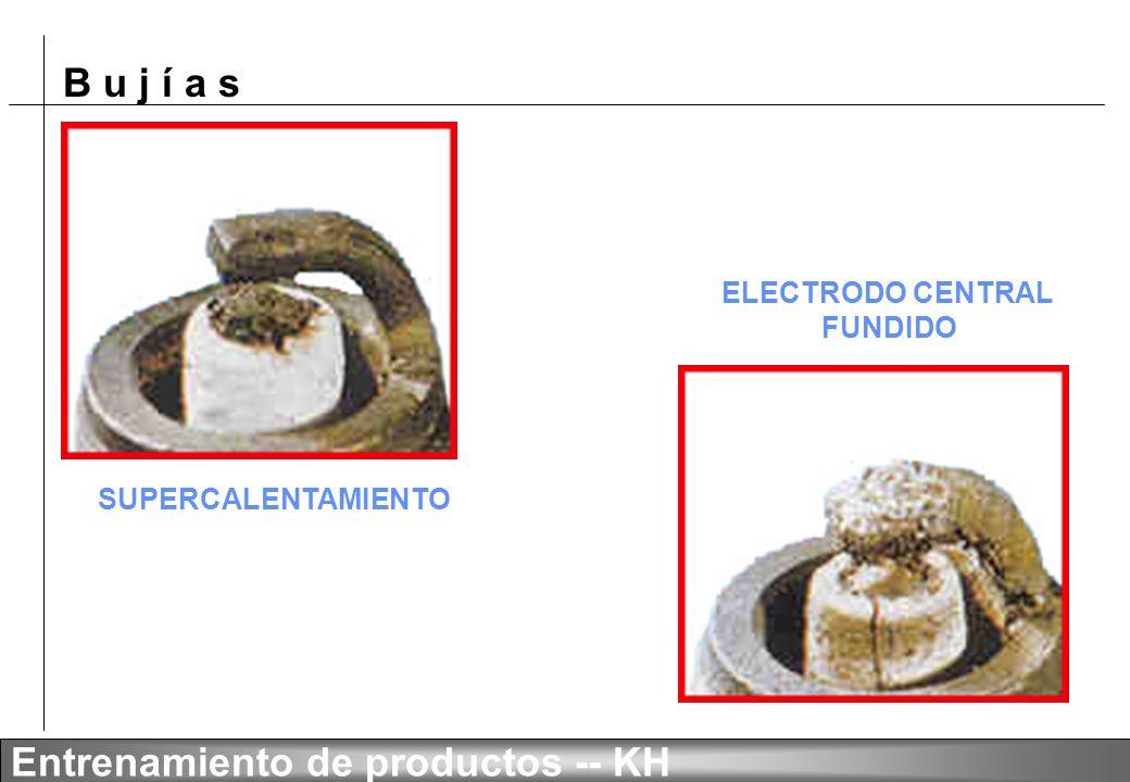 B u j í a s Entrenamiento de productos -- KH RESÍDUOS / IMPUREZAS RESÍDUOS DE PLOMO
