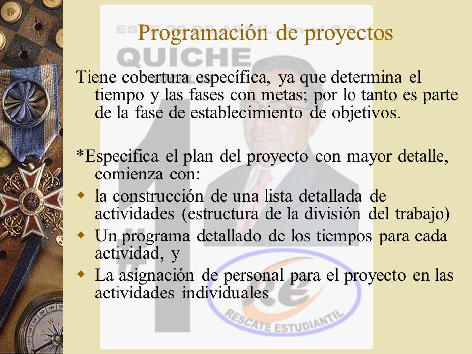 CPM y PERT, son métodos desarrollados para planificar, programar y controlar proyectos COMPLEJOS.