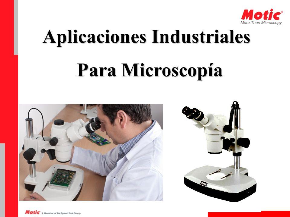 Microscopios de Metalografía Descripción Este tipo de microscopio es de uso común para el control de calidad y producción en los procesos industriales.