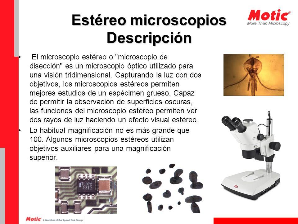 Usos y aplicaciones Los Estéreo microscopios tienen características que son valiosos en situaciones en las que la observación tridimensional y la percepción de profundidad y el contraste es crítico para la interpretación de la estructura del espécimen.