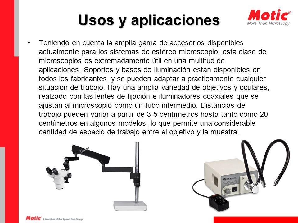 Usos y aplicaciones La utilidad de estereoscópicos sólo está limitado por su poder de resolución.
