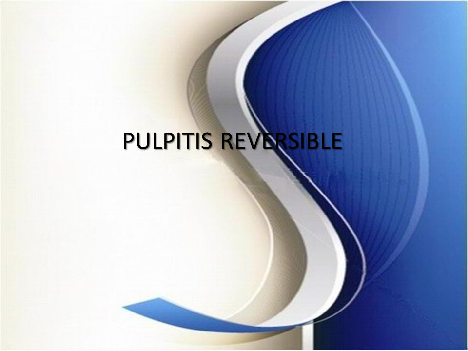 PULPITIS REVERSIBLE