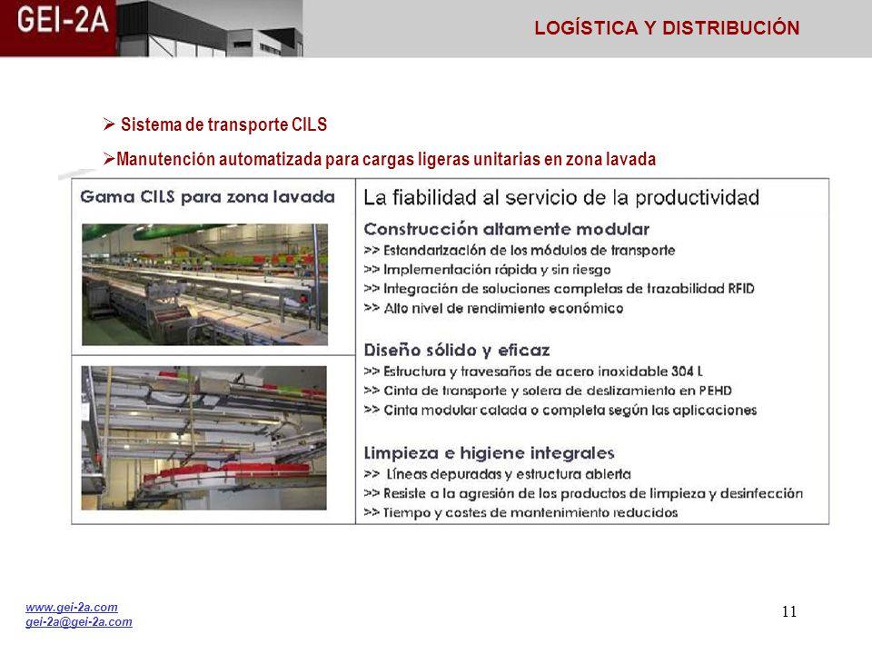 10 Sistemas de transporte: Transelevador (miniload) y Micro transelevador (shuttle). Plataforma logística. Preparación de pedidos. Manutención de carg