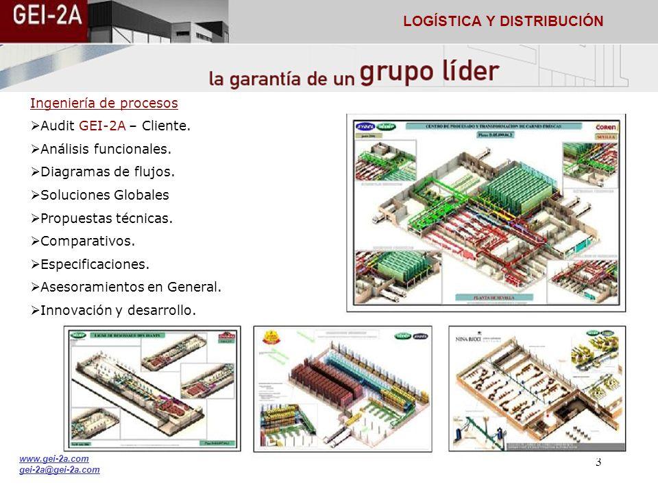 2 www.gei-2a.com gei-2a@gei-2a.com LOGÍSTICA Y DISTRIBUCIÓN