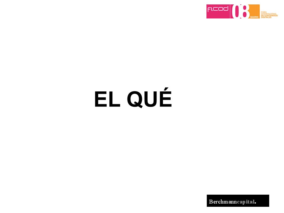 © 2008 Berchmann Capital 30 Conclusiones bis NEGOCIO by Personas