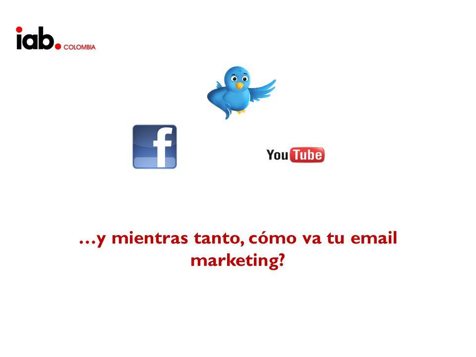 …y mientras tanto, cómo va tu email marketing?