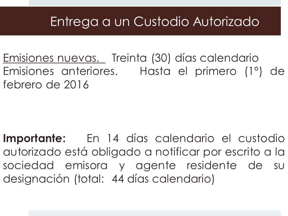 Custodio Autorizados RESIDENTES.