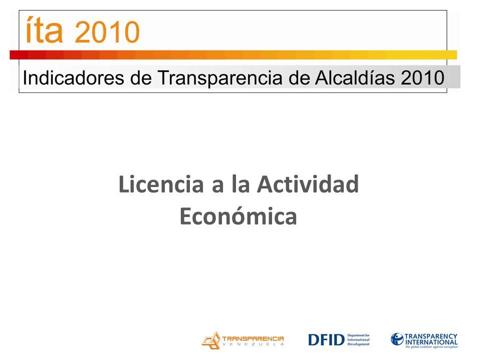 Licencia a la Actividad Económica