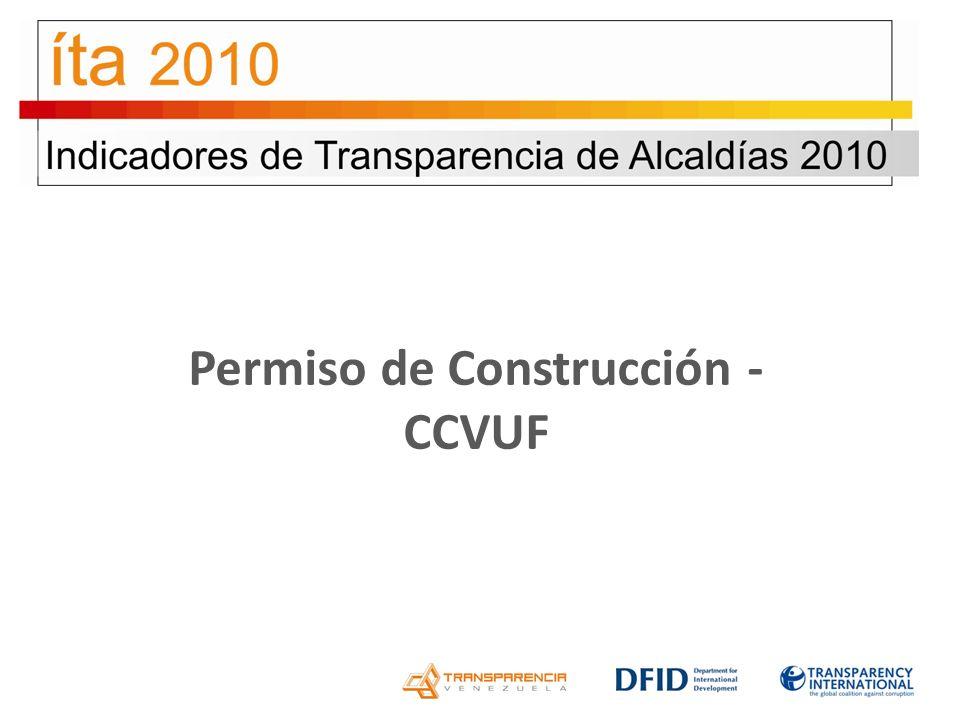 Permiso de Construcción - CCVUF