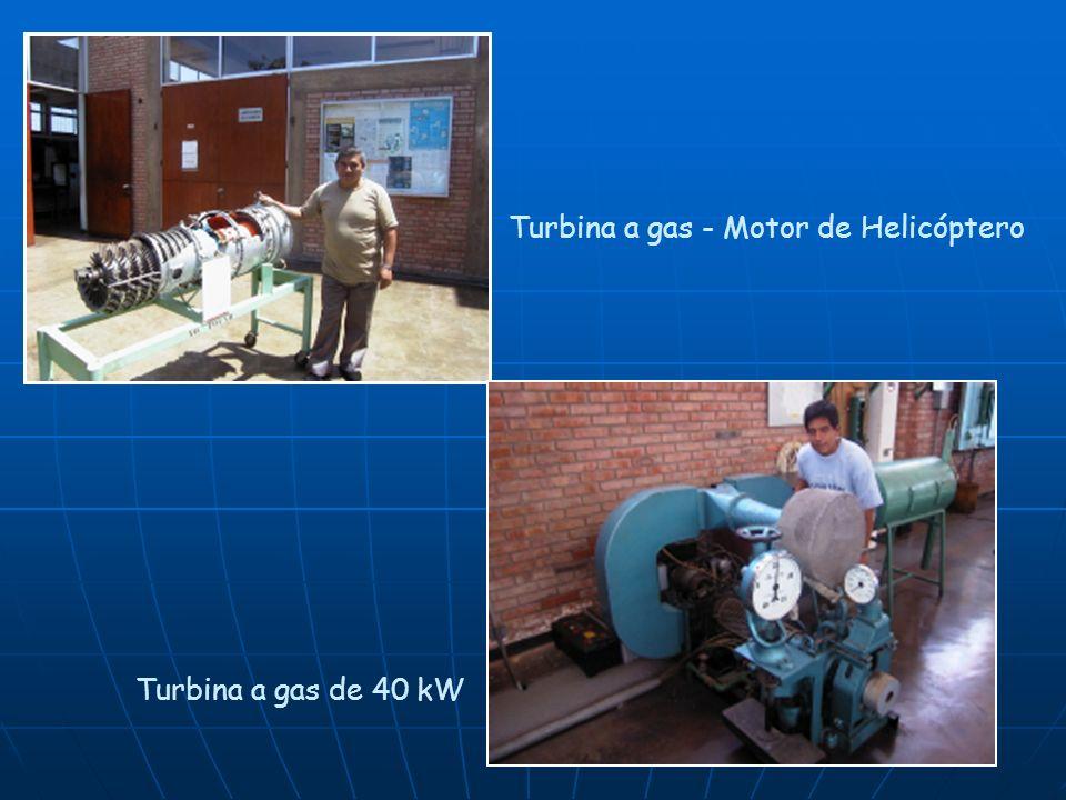 Turbina a gas - Motor de Helicóptero Turbina a gas de 40 kW