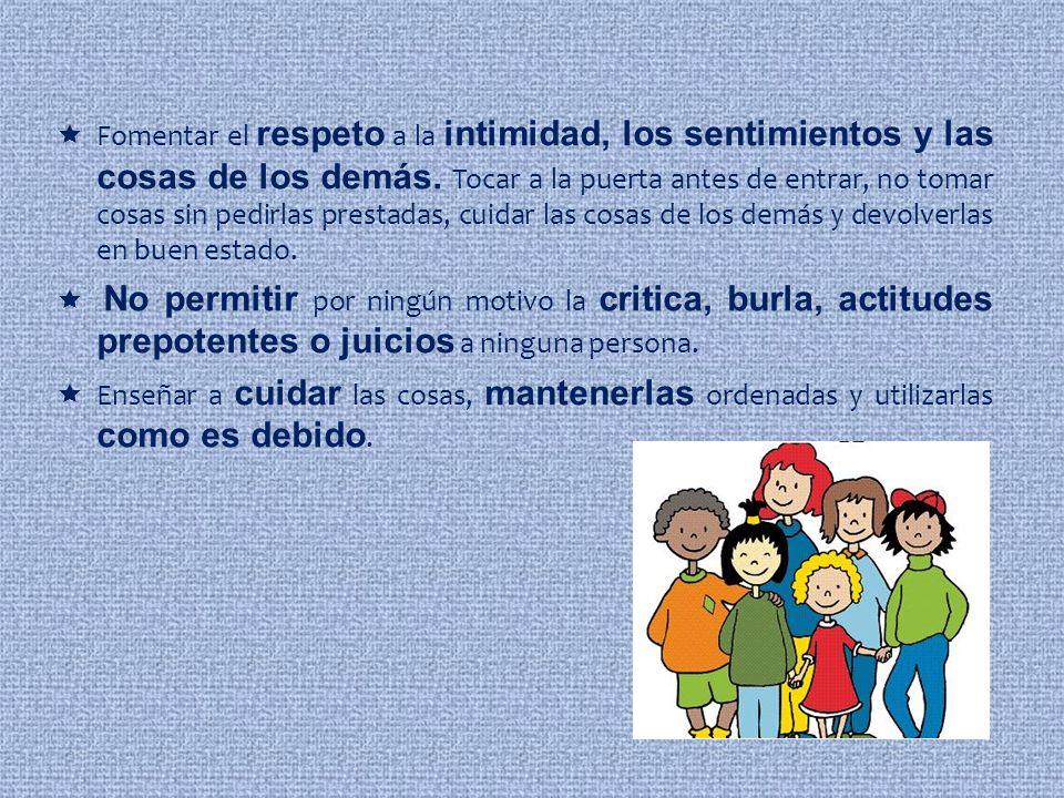 3. Evita la discriminación.