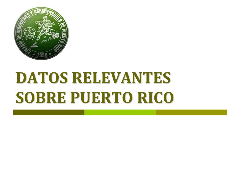 Ámbito La peligrosidad sísmica en Puerto Rico, entendida como la probabilidad de que en un lugar determinado y durante un periodo de tiempo de referencia ocurra un terremoto, es una de las más altas en el Caribe, aunque a escala global puede considerarse moderada.