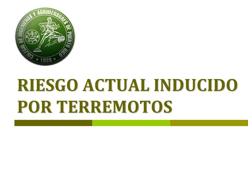 CIAPR – COMISIÓN DE TERREMOTOS 40 …Infraestructura AAA/Agua potable: Se deberá establecer una programa de evaluación y reparación de las represas y tanques de la plantas basados en la prioridad de servicio.