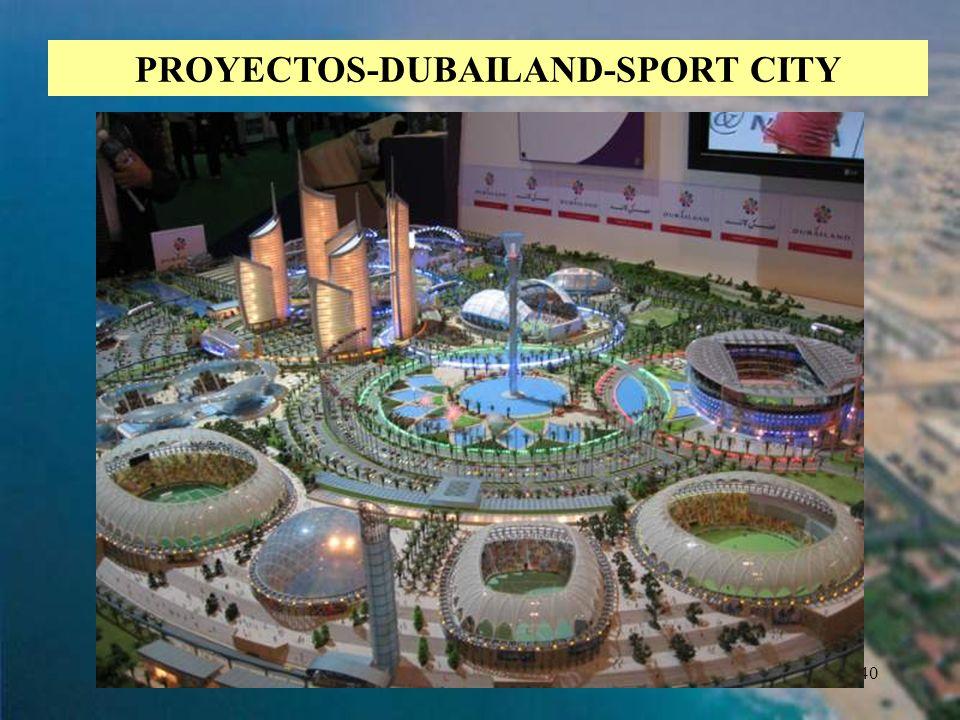 40 PROYECTOS-DUBAILAND-SPORT CITY