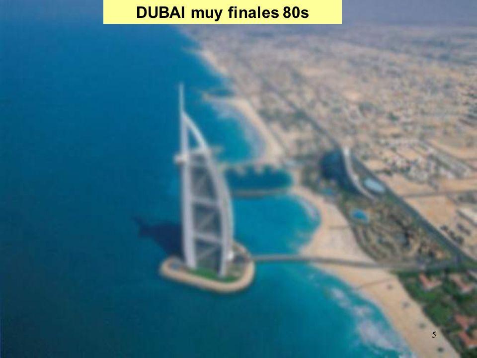 46 Proyectos Urbanisticos anunciados en Abu Dhabi (104 billones de US $ en los ú ltimos 24 meses) Yas Island (40 billones de US$) Saadiyat Island (27 billones de US $): isla natural de 27 km2 situada a 500 metros de la costa: áreas residenciales, hoteles de lujo, dos campos de golf, museos, centros comerciales, zonas de ocio y una sala para conciertos.