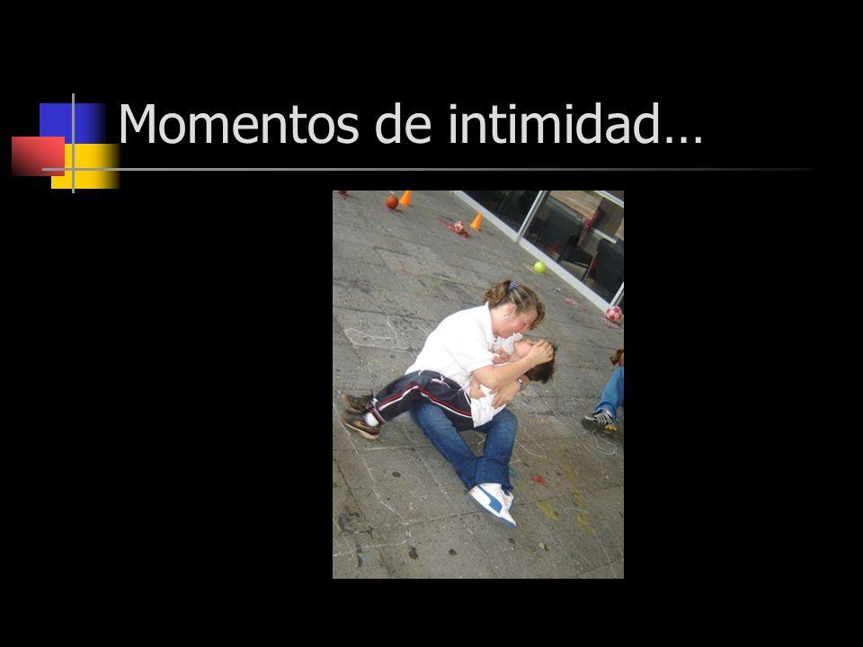 Momentos de intimidad…