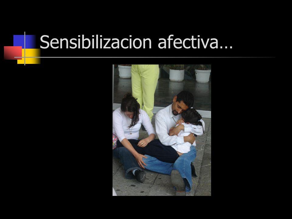 Sensibilizacion afectiva…