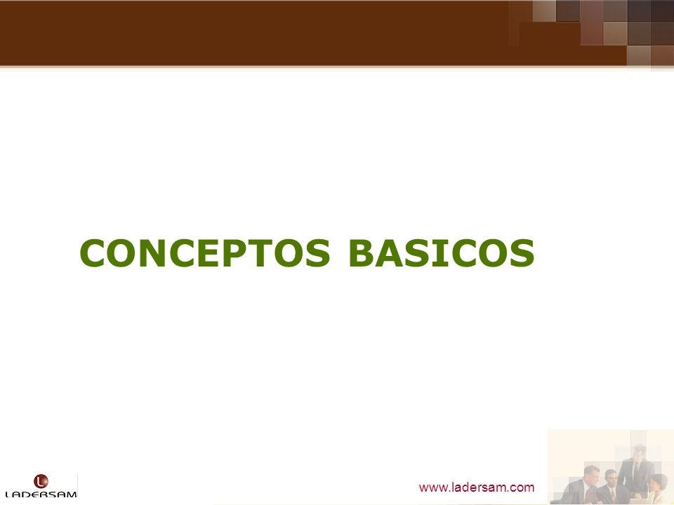 www.ladersam.com CONCEPTOS BASICOS