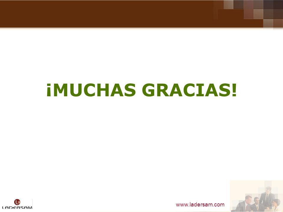 www.ladersam.com ¡MUCHAS GRACIAS!