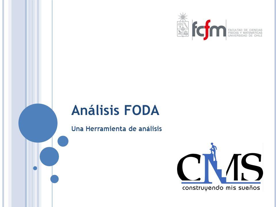 Análisis FODA Una Herramienta de análisis