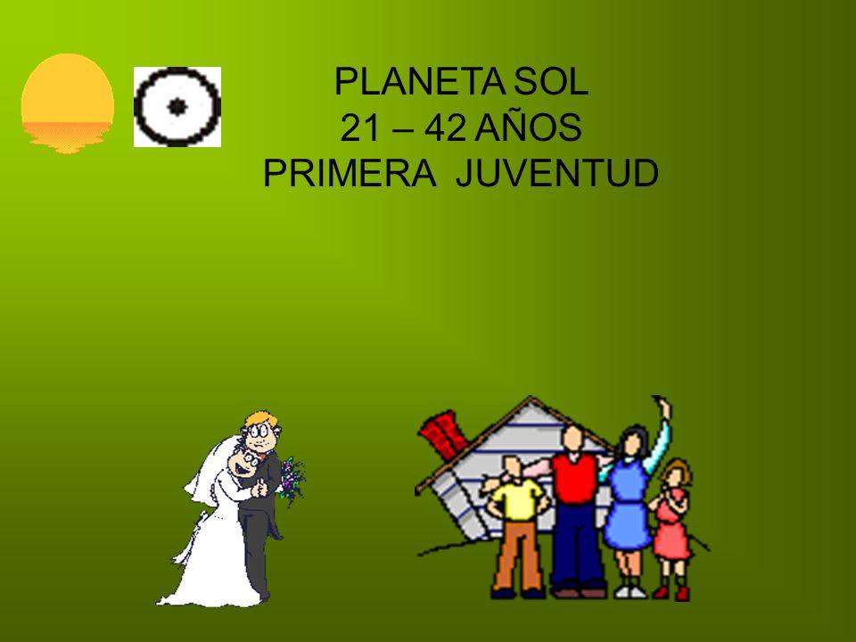 PLANETA SOL 21 – 42 AÑOS PRIMERA JUVENTUD