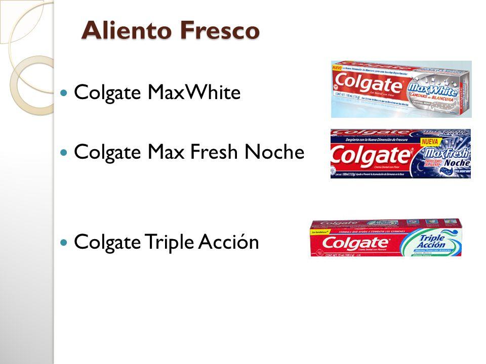 Aliento Fresco Colgate MaxWhite Colgate Max Fresh Noche Colgate Triple Acción
