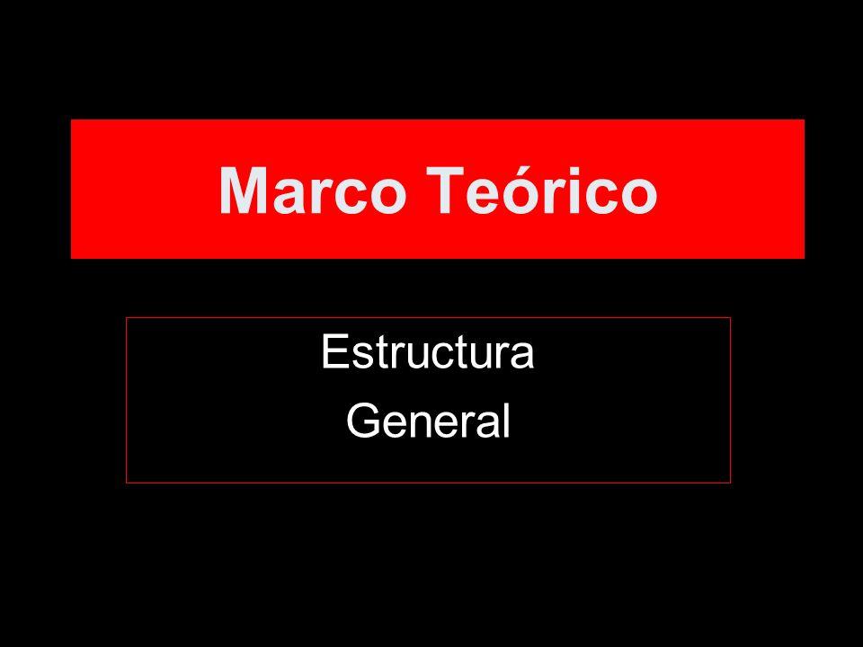 Marco Teórico Estructura General