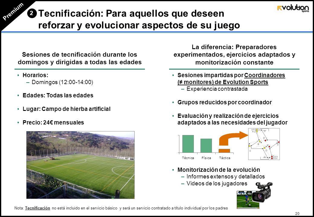 19 La creación de una actividad de multideporte para niños y niñas de 5 y 6 años que permitiría iniciarse en el mundo del deporte 1 o 2 sesiones por s
