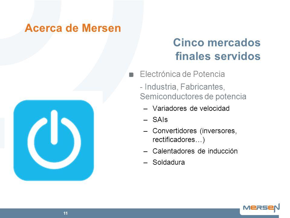 11 Electrónica de Potencia - Industria, Fabricantes, Semiconductores de potencia –Variadores de velocidad –SAIs –Convertidores (inversores, rectificad