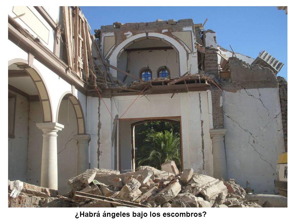 ¿Habrá ángeles bajo los escombros?