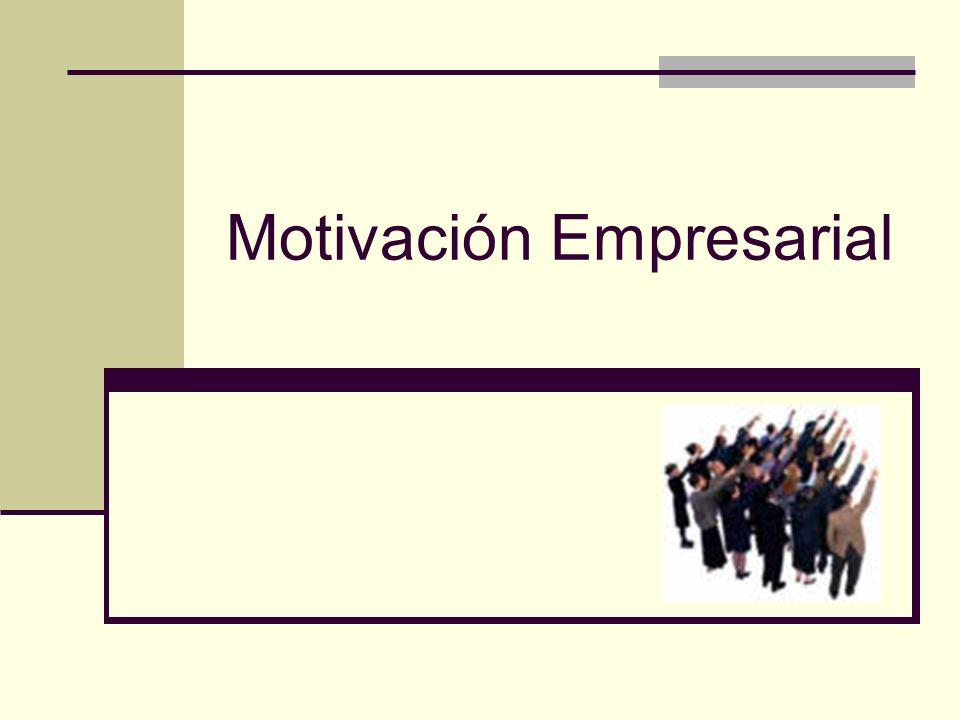 MOTIVACIÓN EN LA GESTION EMPRESARIAL Para la mejor comprensión de los recursos humanos en el ámbito laboral, es importante conocer las causas que originan la conducta humana.