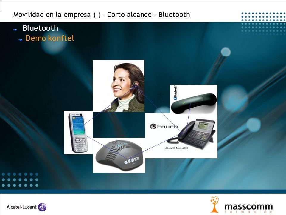 Movilidad en la empresa (I) – Corto alcance - Bluetooth Bluetooth Demo konftel