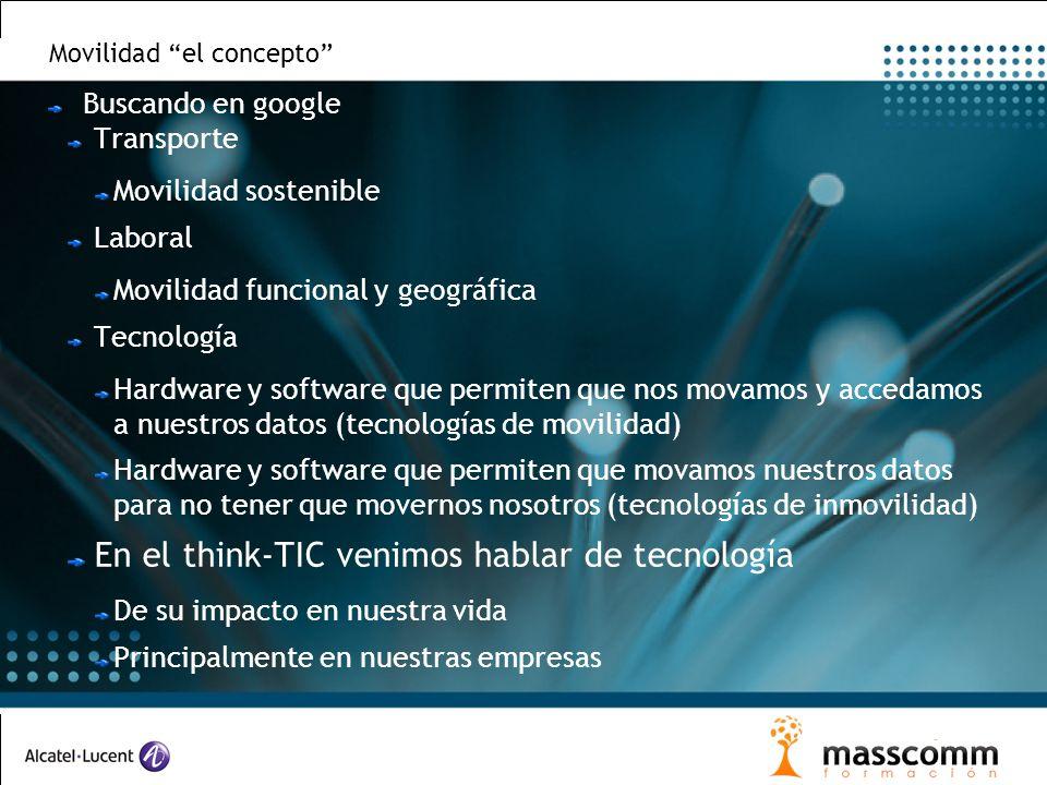 Movilidad el concepto Buscando en google Transporte Movilidad sostenible Laboral Movilidad funcional y geográfica Tecnología Hardware y software que p