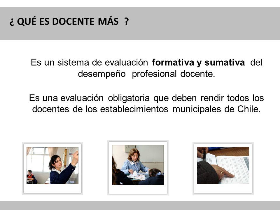 Reforma Curricular para la Educación OBJETIVO DE LA EVALUACIÓN - Fortalecimiento de la profesión docente - Contribuir a mejorar la calidad de la educación en Chile.