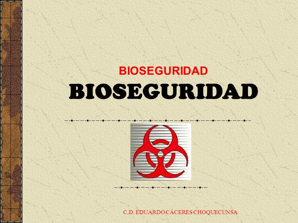 BIOSEGURIDAD C.D. EDUARDO CÁCERES CHOQUECUNSA