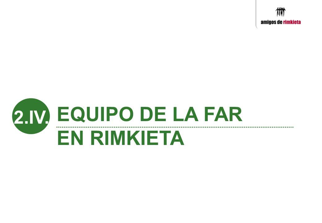 EQUIPO DE LA FAR EN RIMKIETA 2.IV.