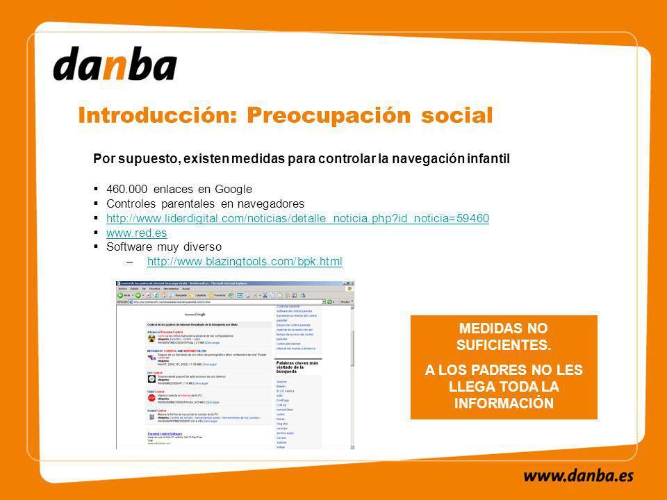 Introducción: Preocupación social MEDIDAS NO SUFICIENTES.