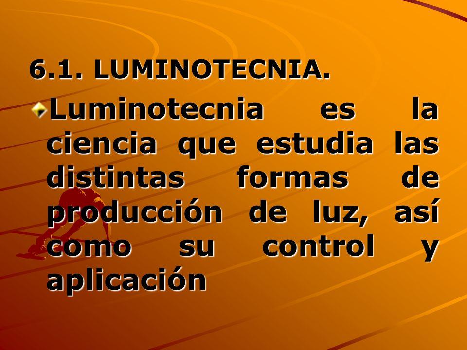 6.1.LUMINOTECNIA.